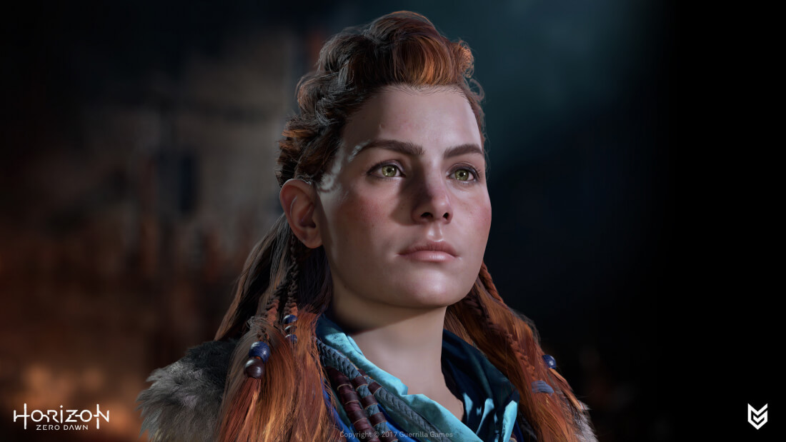 See The Amazing Hair Of Horizon Zero Dawn Techspot