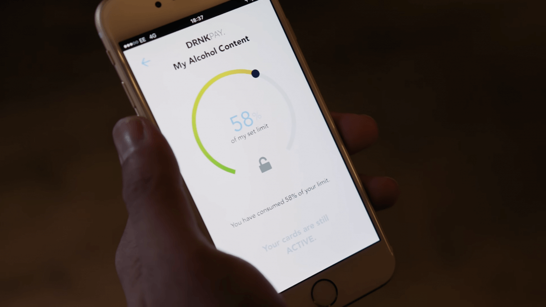 This new app stops you from making purchases while drunk