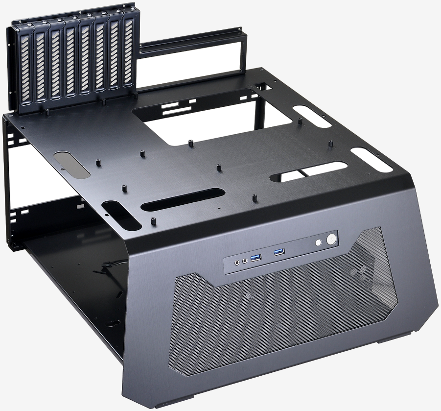 Lian Li's new test bench can simulate a closed-air chassis