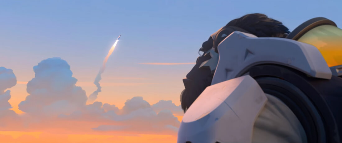 Horizon Lunar Colony assault map is coming to Overwatch