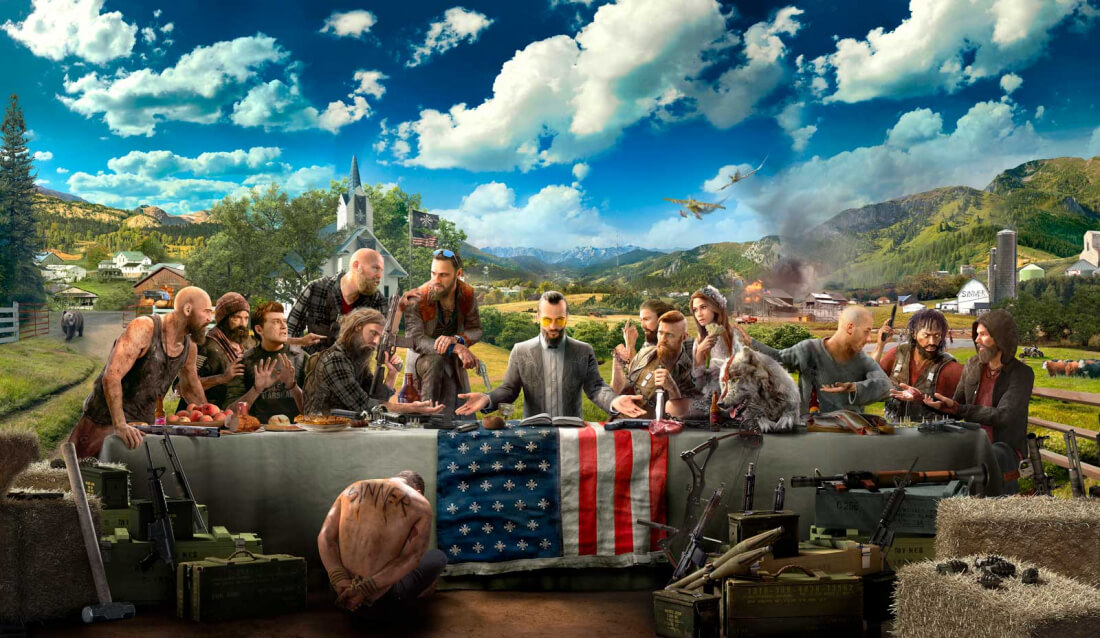 The 'Cancel Far Cry 5' petition is almost certainly a hoax