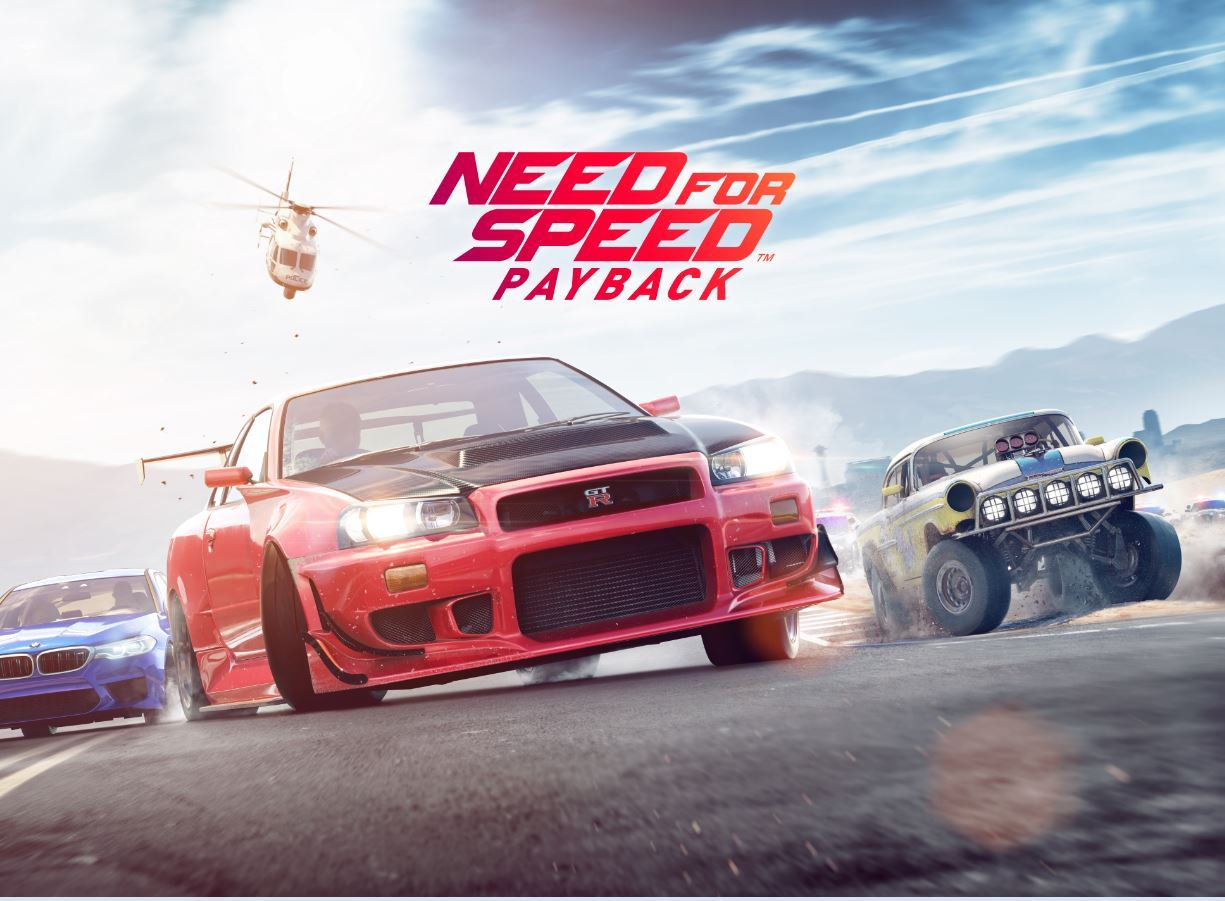 EA publishes trailer for 'Need for Speed Payback,' coming this holiday season
