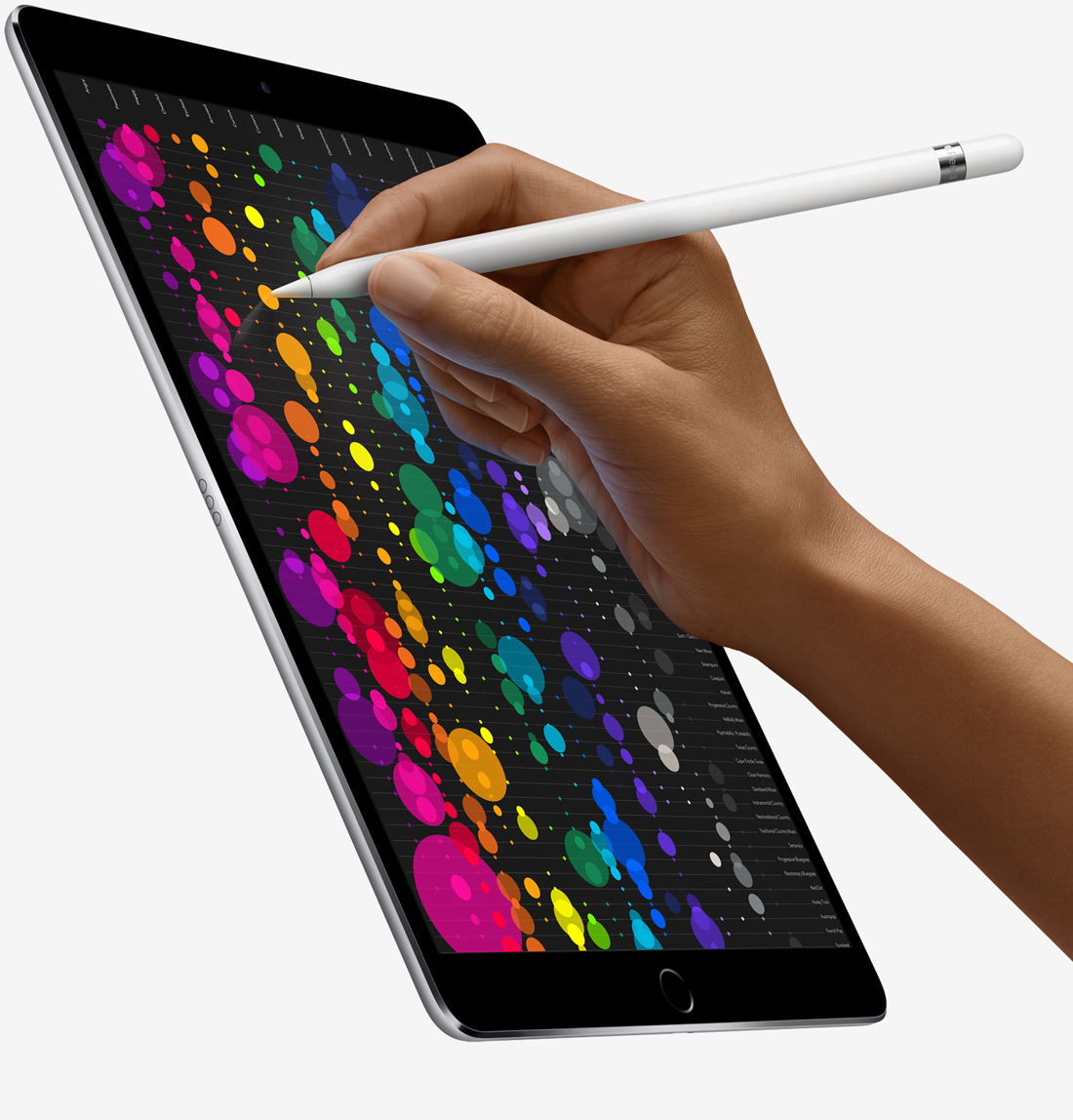 apple refreshes 12 9 inch ipad pro unveils new 10 5 inch size