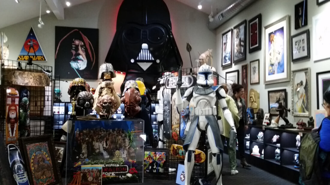 A Star Wars Museum might have lost over $200,000 in merchandise over several months