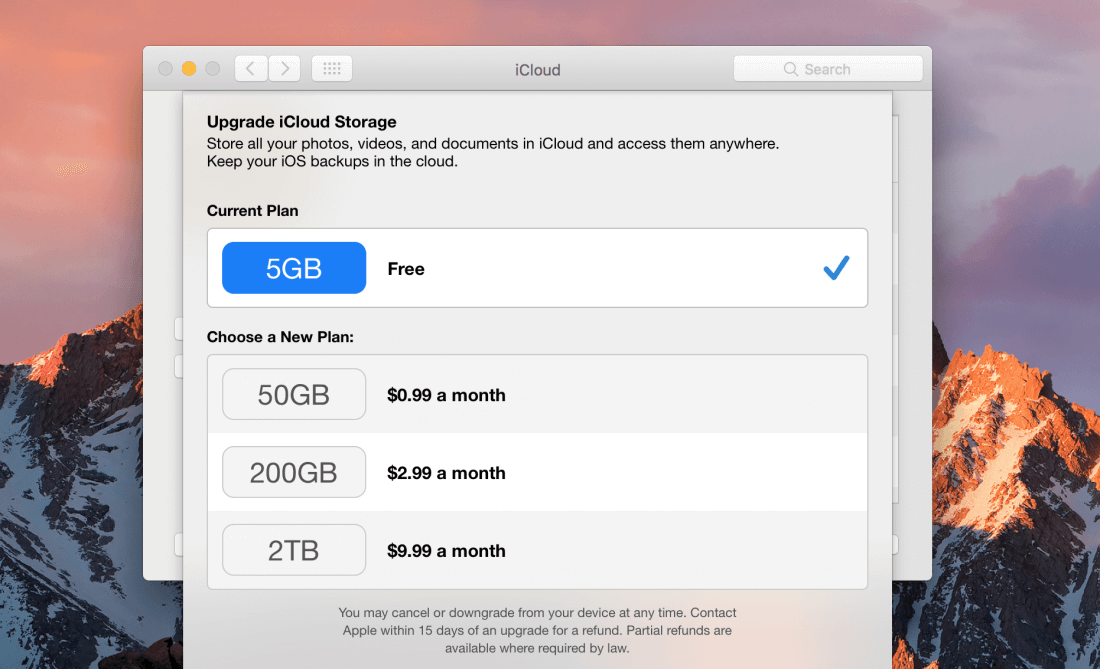 Apple drops 2TB iCloud storage price to $9 99, adds family