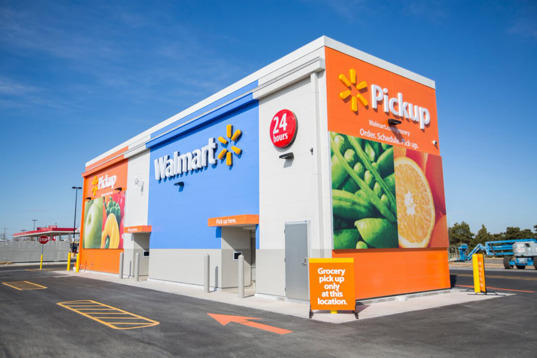 Walmart testing 24-hour, drive-up kiosk for online order collection