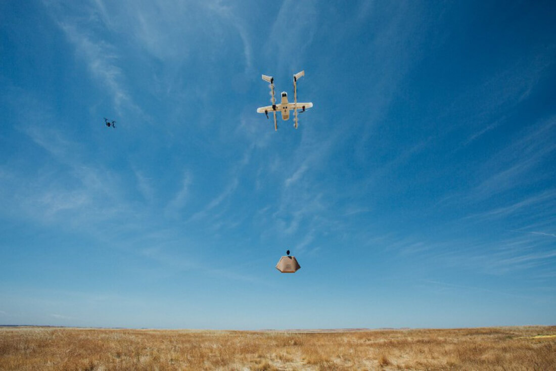 Google tests air traffic control system for drones