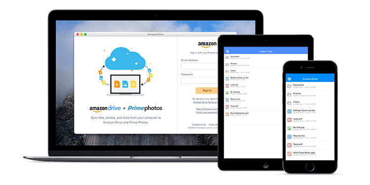 Amazon is dropping its Amazon Drive unlimited storage deal