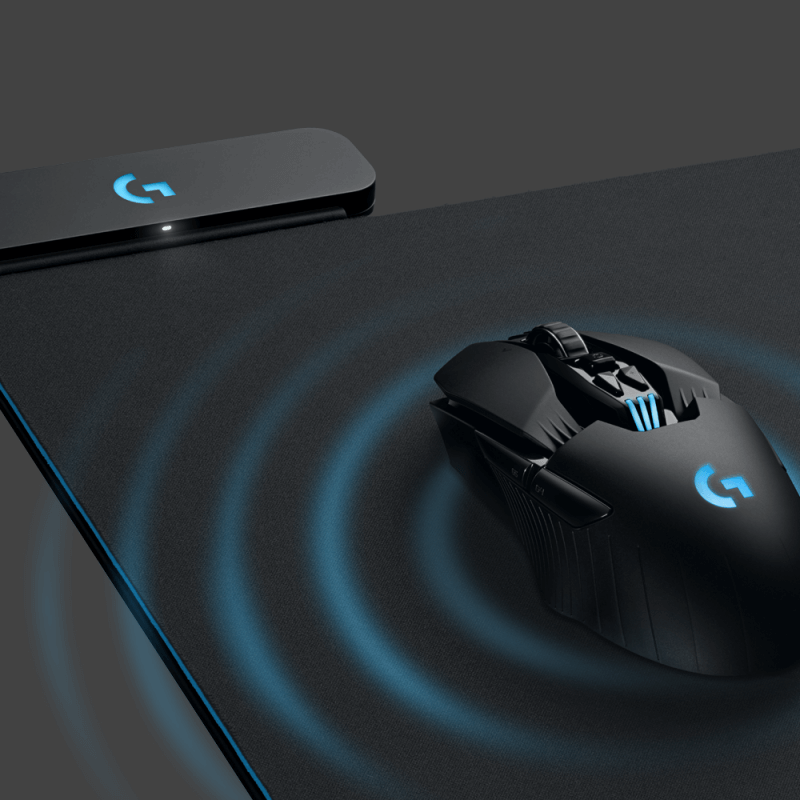 1377c1382ed Logitech's PowerPlay mat wirelessly charges a mouse while you use it ...