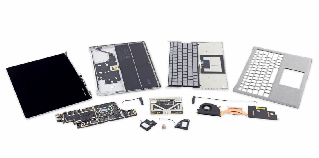 Forget about repairing or upgrading your Microsoft Surface Laptop