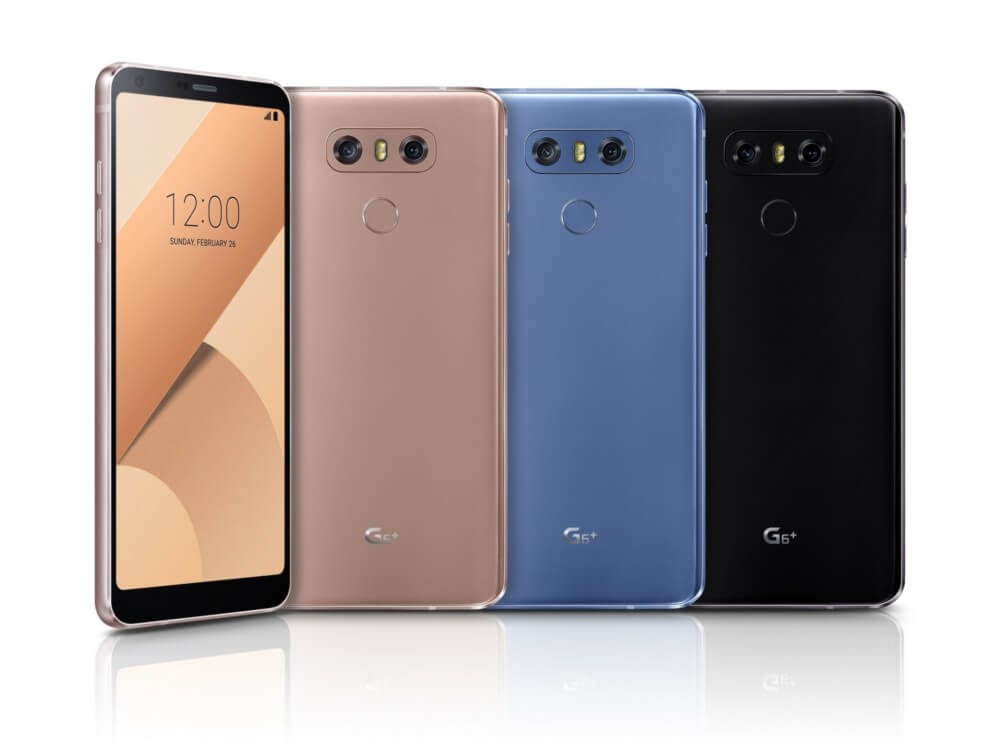 LG's G6+ adds more storage and features to the flagship smartphone