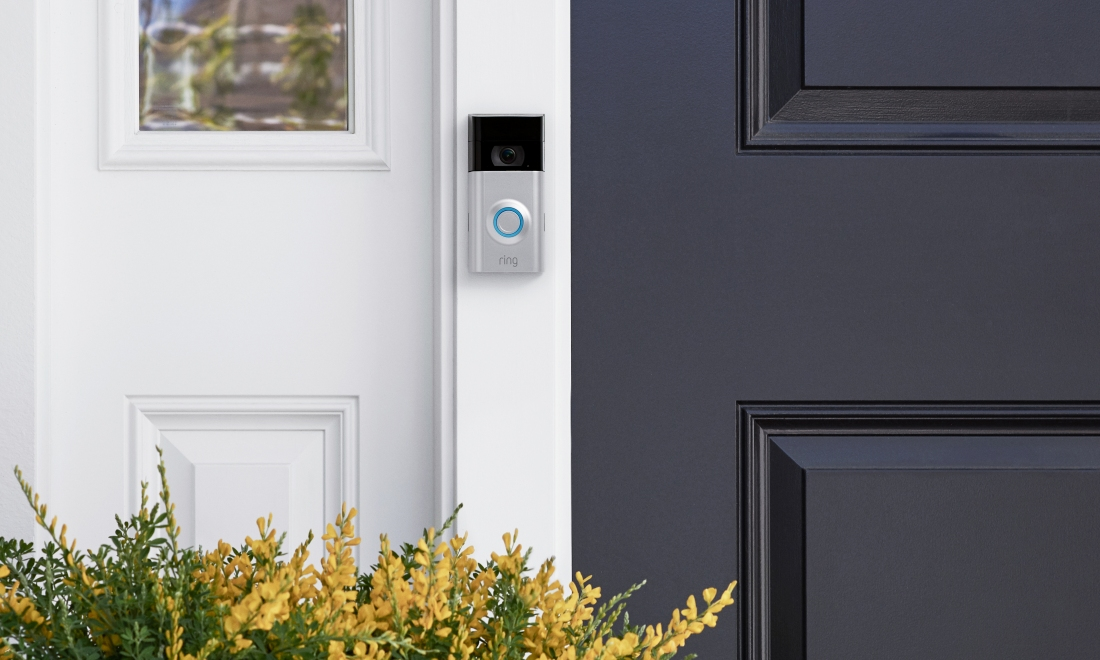 Ring adds removable battery, 1080p video to second-gen video doorbell