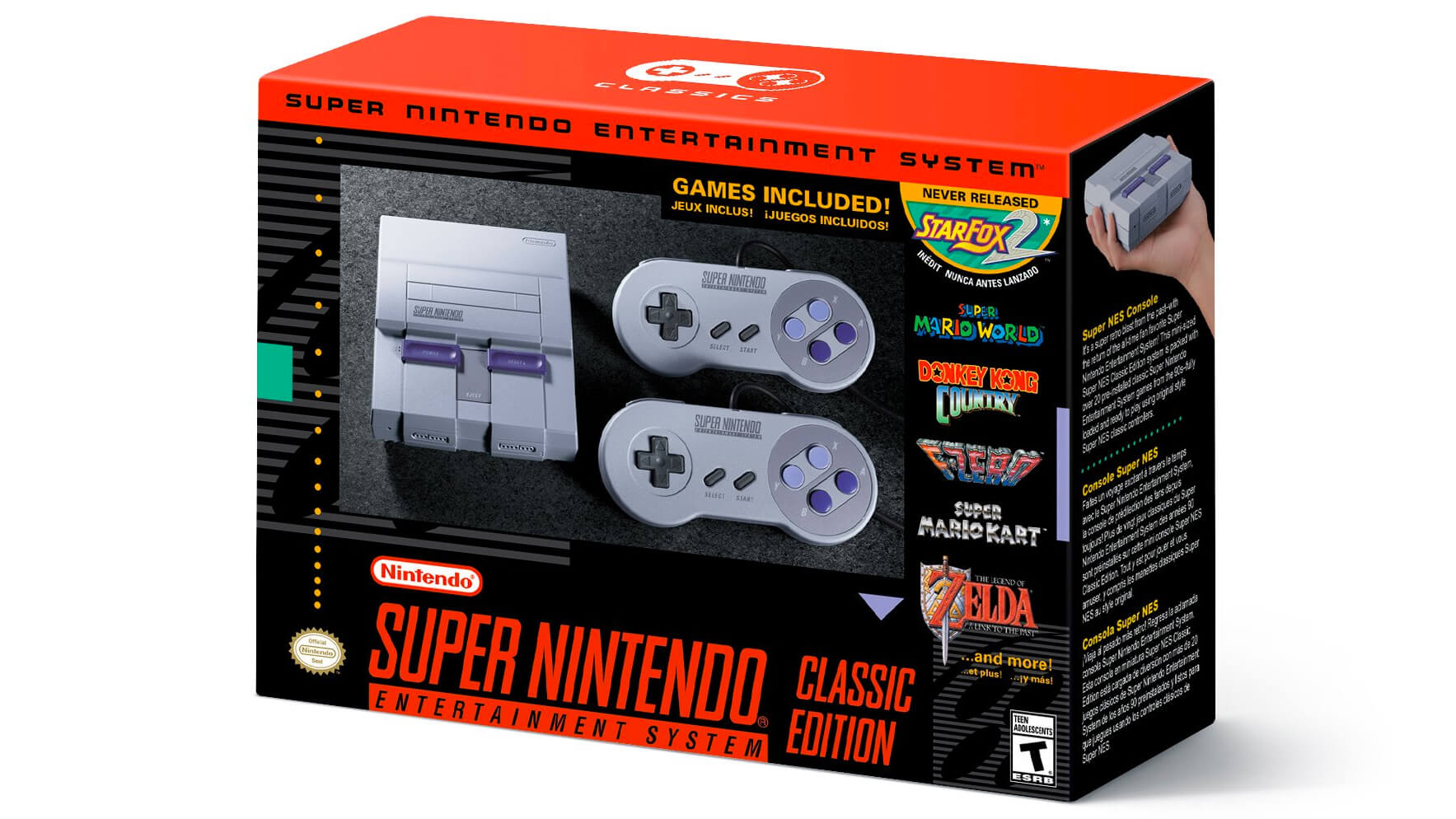 Move over, NES: Super Nintendo Classic arrives September 29 for $80