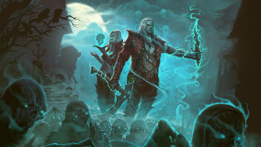 Diablo III finally sees the return of the Necromancer class