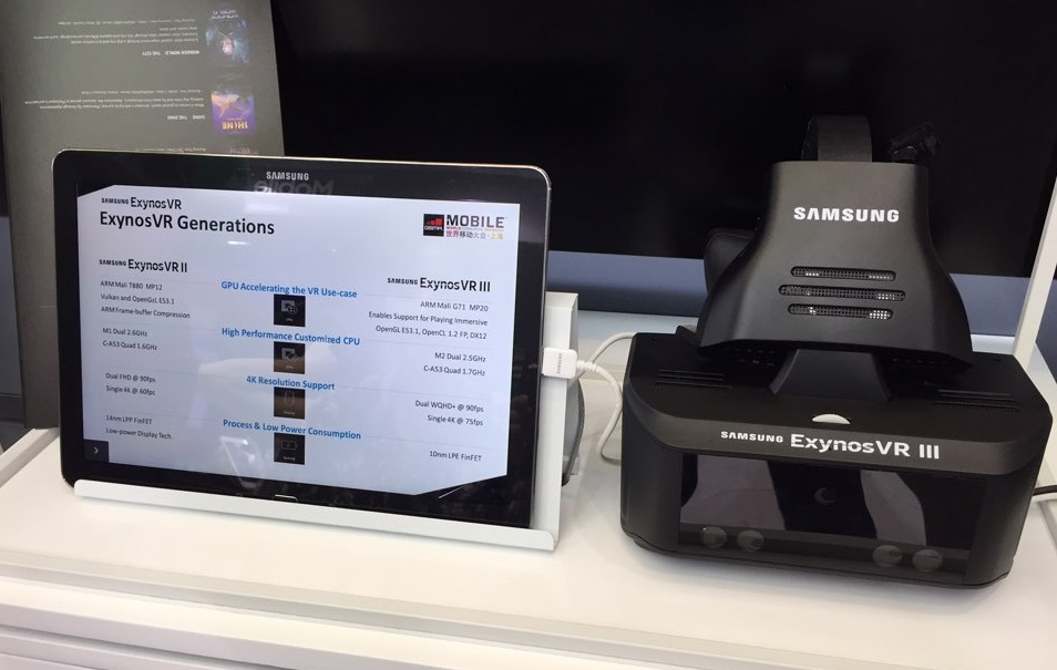 Samsung's standalone VR headset prototype inadvertently revealed
