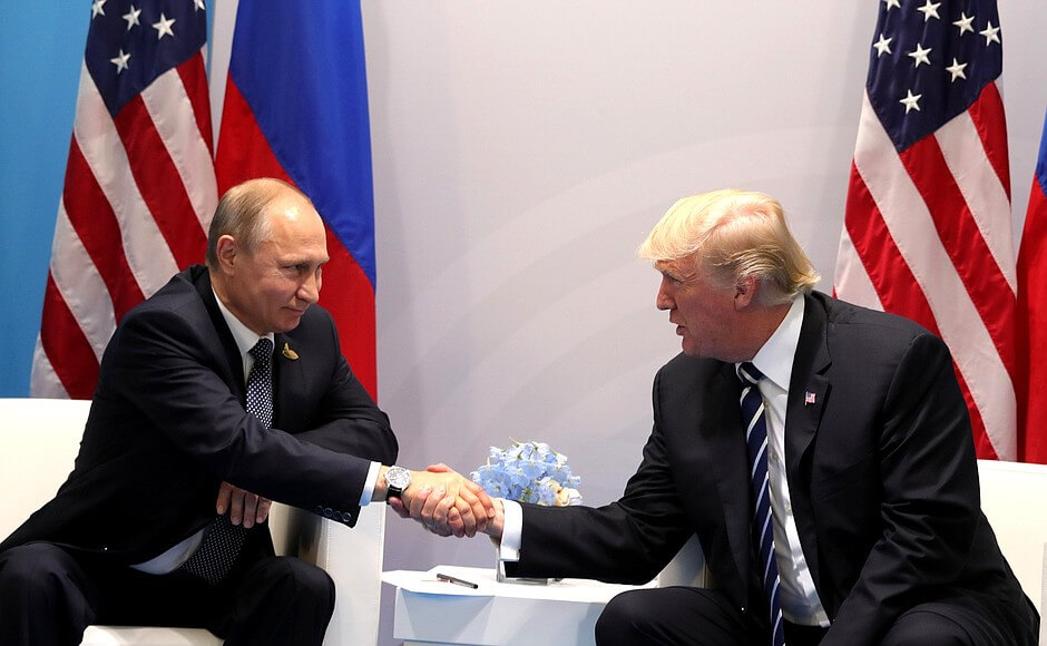 Trump discusses forming 'impenetrable cyber unit' with Russia, but then tweets that it can't happen