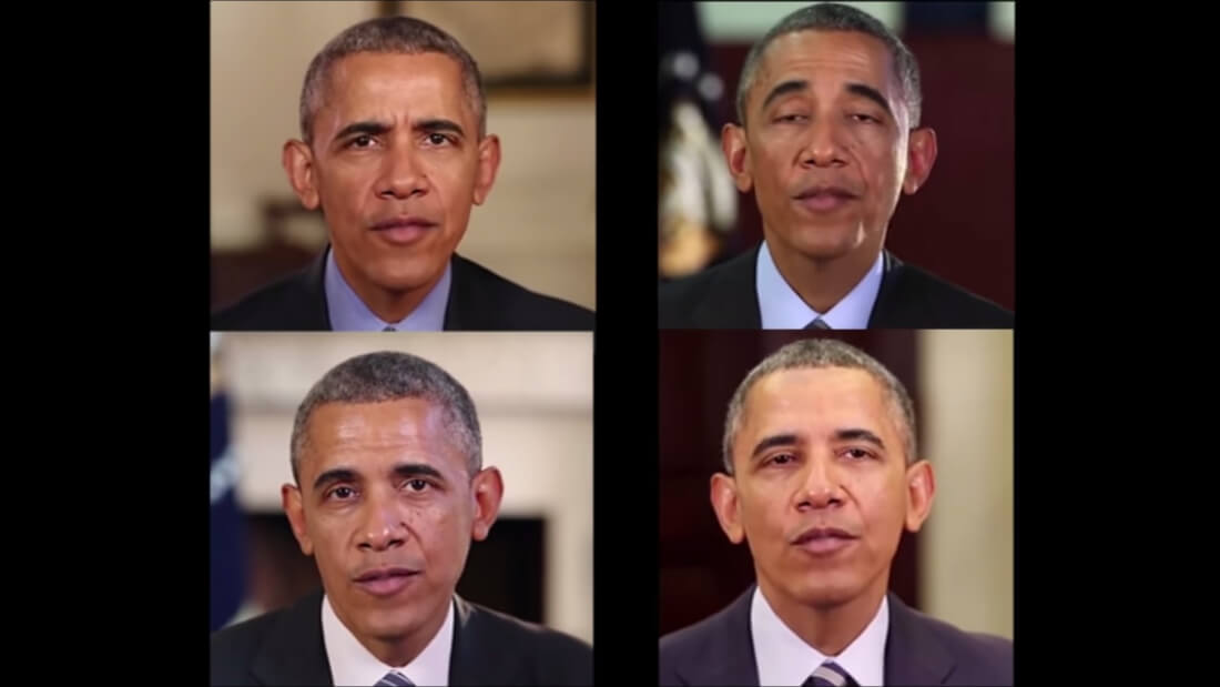 Researchers show off generated video of Obama that uses lip-syncing AI tech
