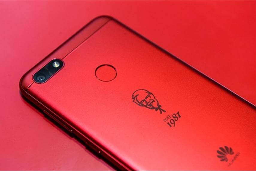 Huawei teams up with KFC for special edition smartphone in China