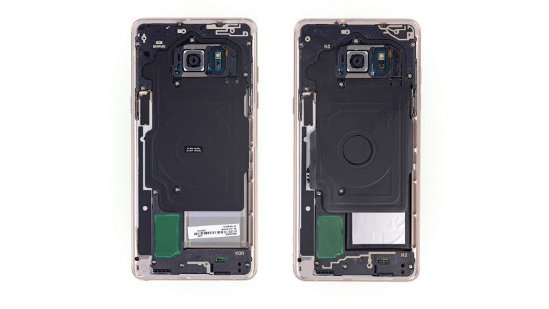 iFixit teardown of Note 7 Fan Edition reveals it is almost identical to the original