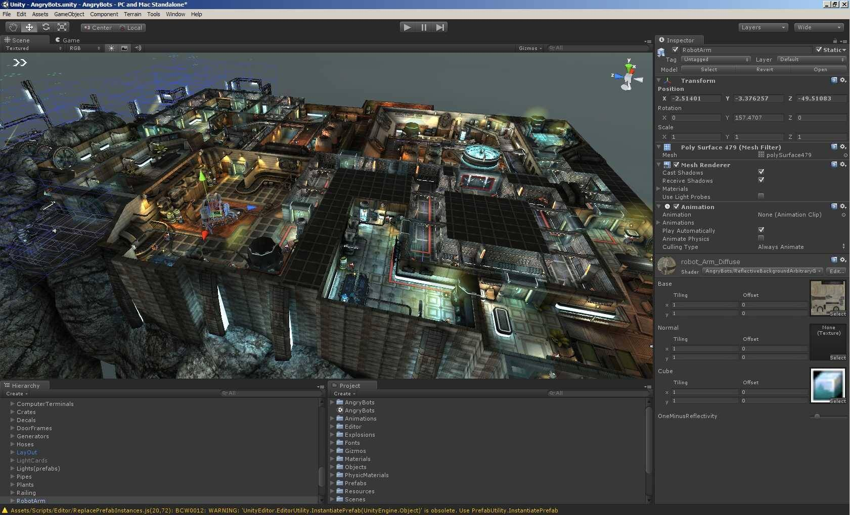 Code a first-person shooter with this Unity training