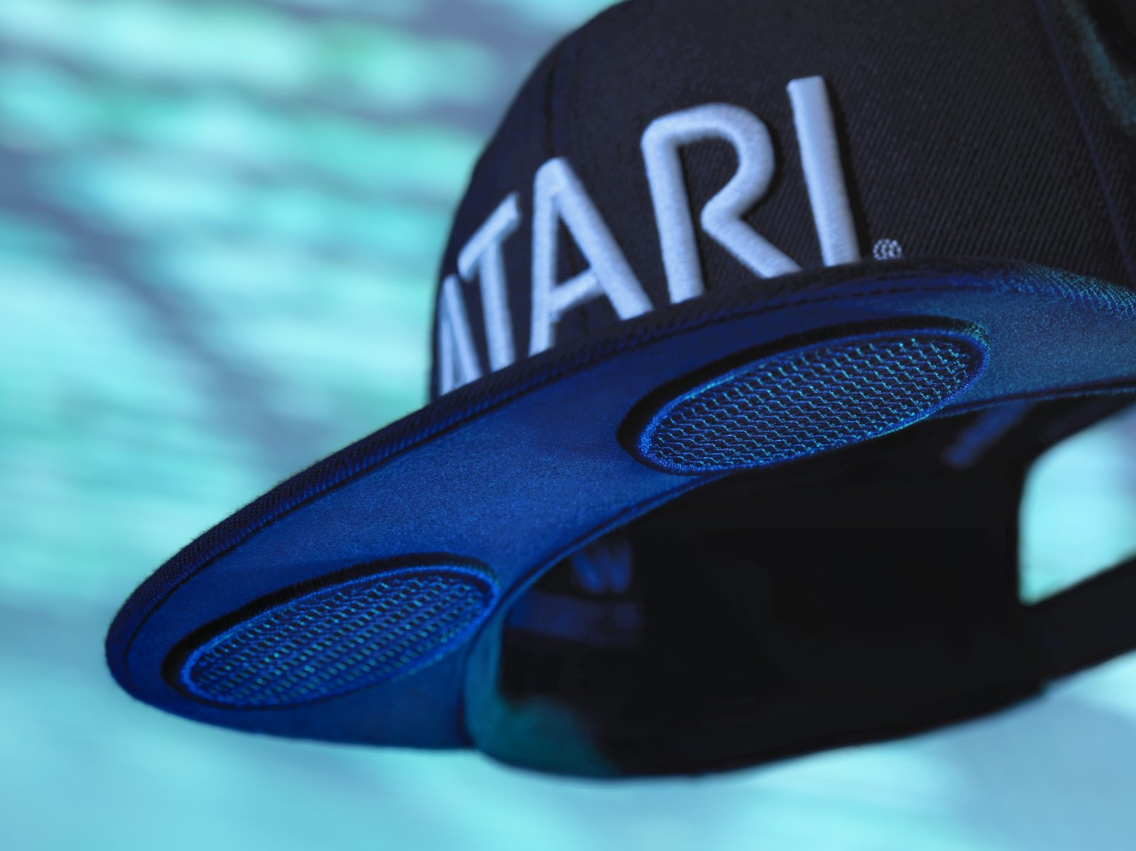 Atari's first wearable is the Speakerhat, a baseball cap with integrated speakers