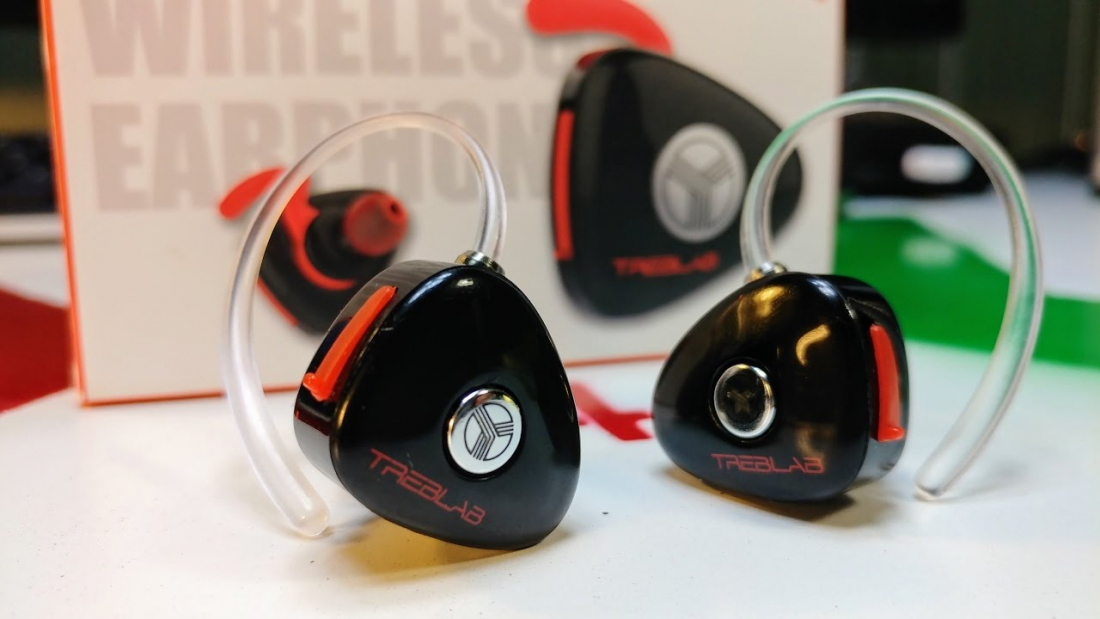 ab15a299c75948 Don't let their size deceive you, TrebLab's X11 earphones deliver a  satisfying listening experience with zero wires attached.