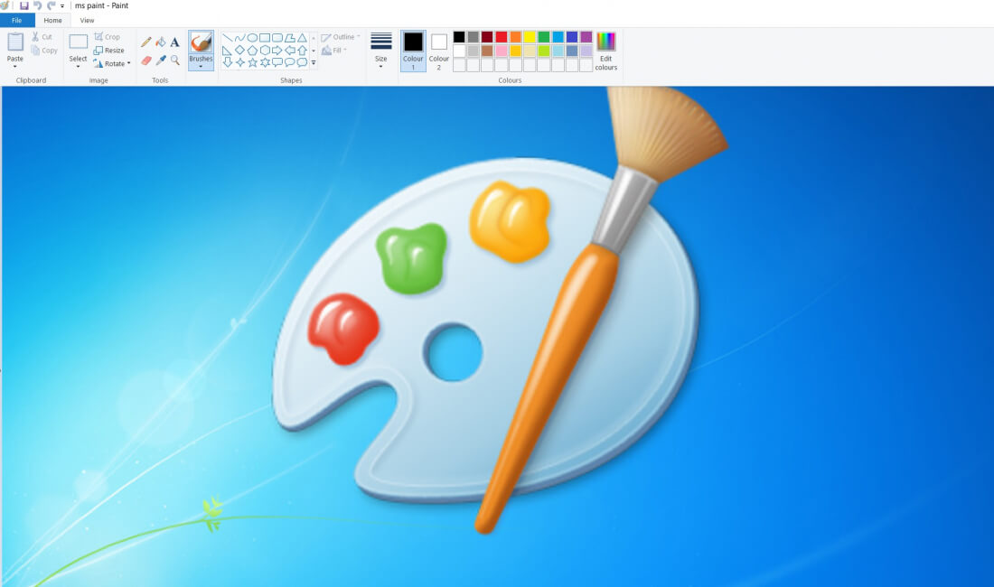 Microsoft plans to remove paint from windows but will for Microsoft paint download