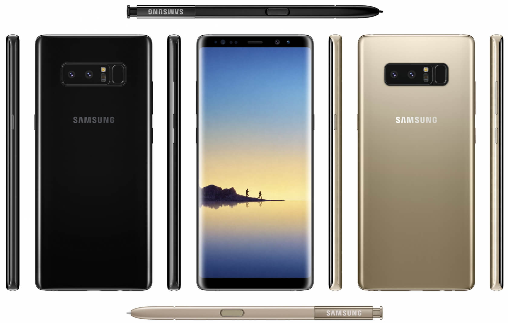 New leaks show what could be the Galaxy Note 8's final design