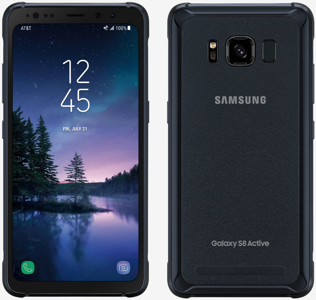 Samsung's rugged Galaxy S8 Active is an AT&T exclusive, pre-orders open August 8