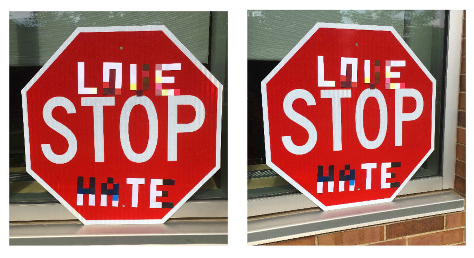 Researchers show how to confuse self-driving cars by adding stickers to street signs