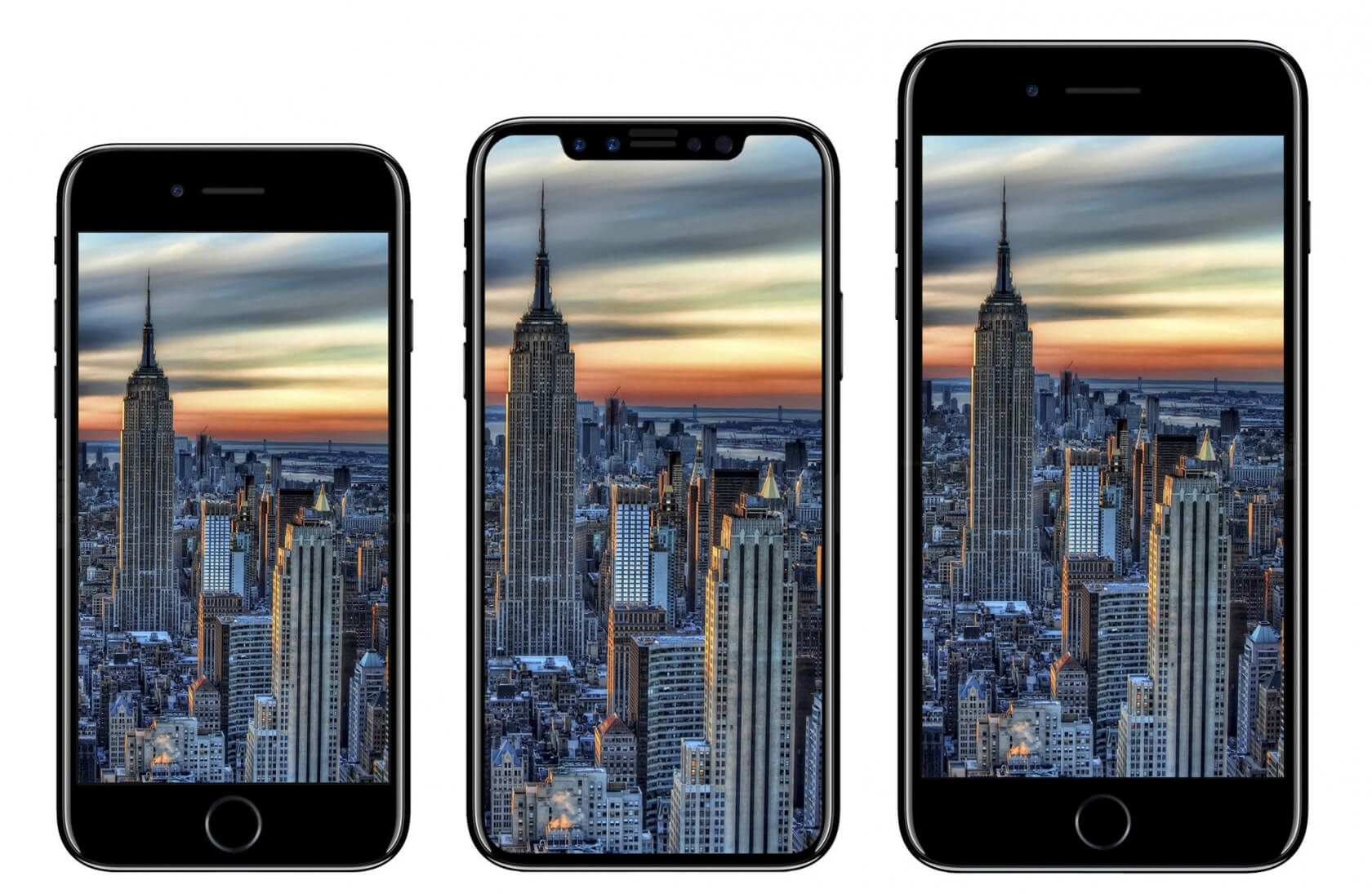 KGI report: Three new iPhones to launch simultaneously next month, iPhone 8 supplies limited
