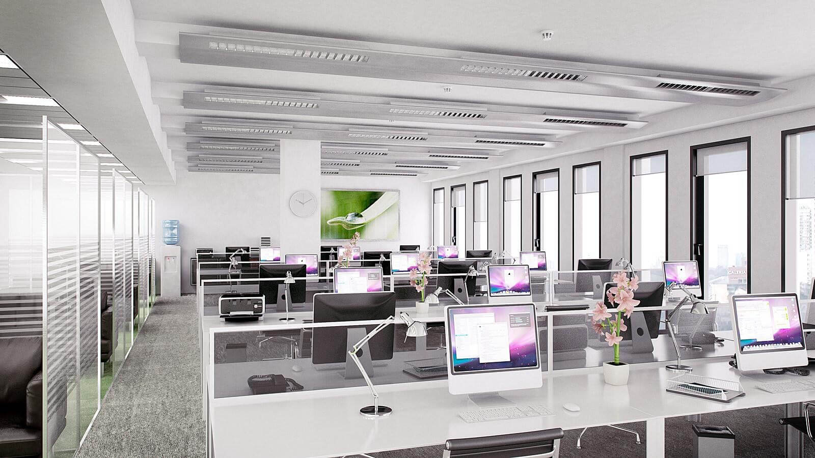 Apple employees reportedly unhappy with open office plan for Open space interior design