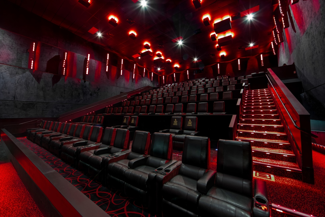 amc movie theaters theater theatres theatre entertainment square cinema interior fire lights emergency action investors metropark imax movies moviepass 3d