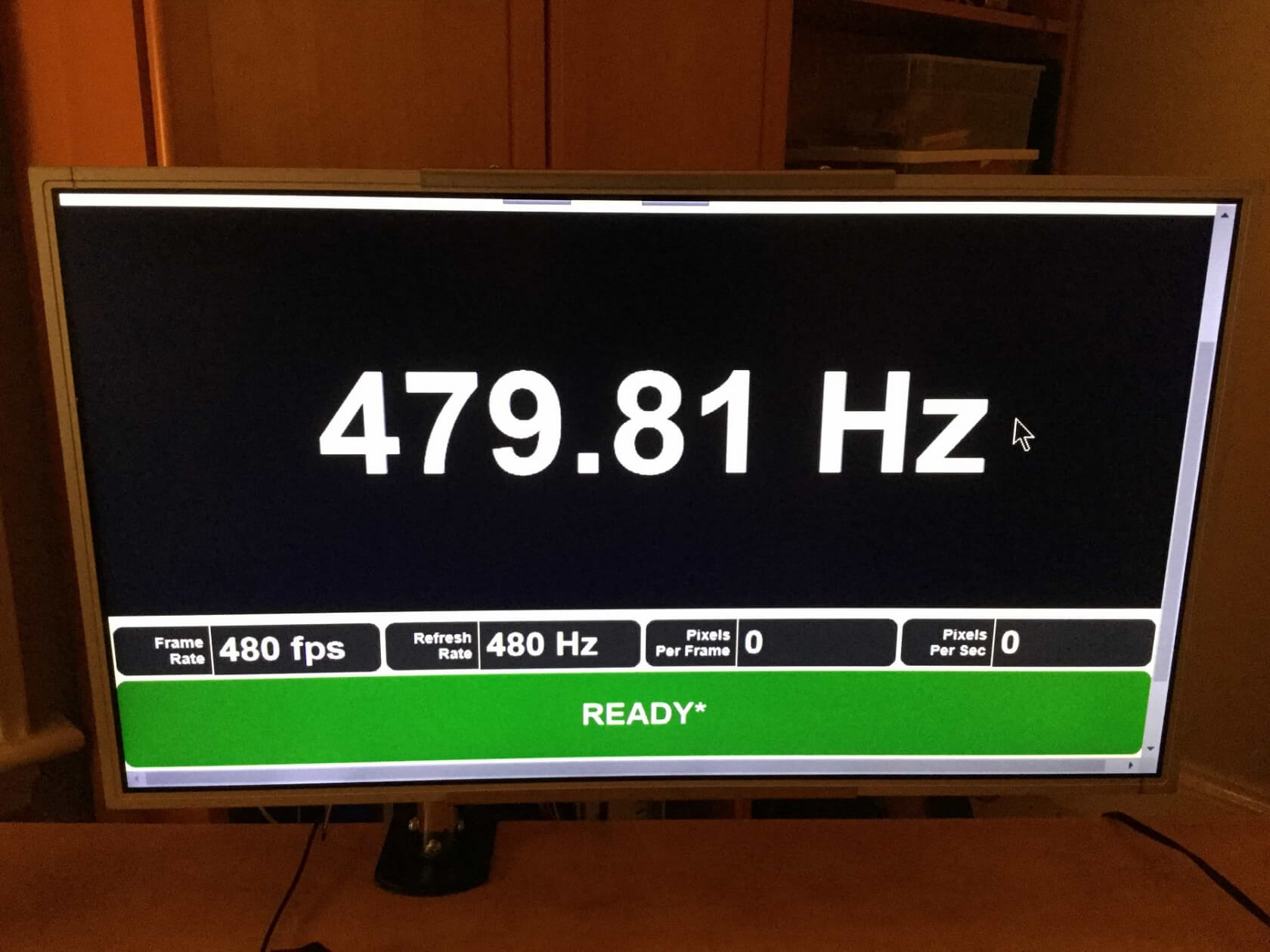 Alleged 480Hz monitor appears on website - TechSpot
