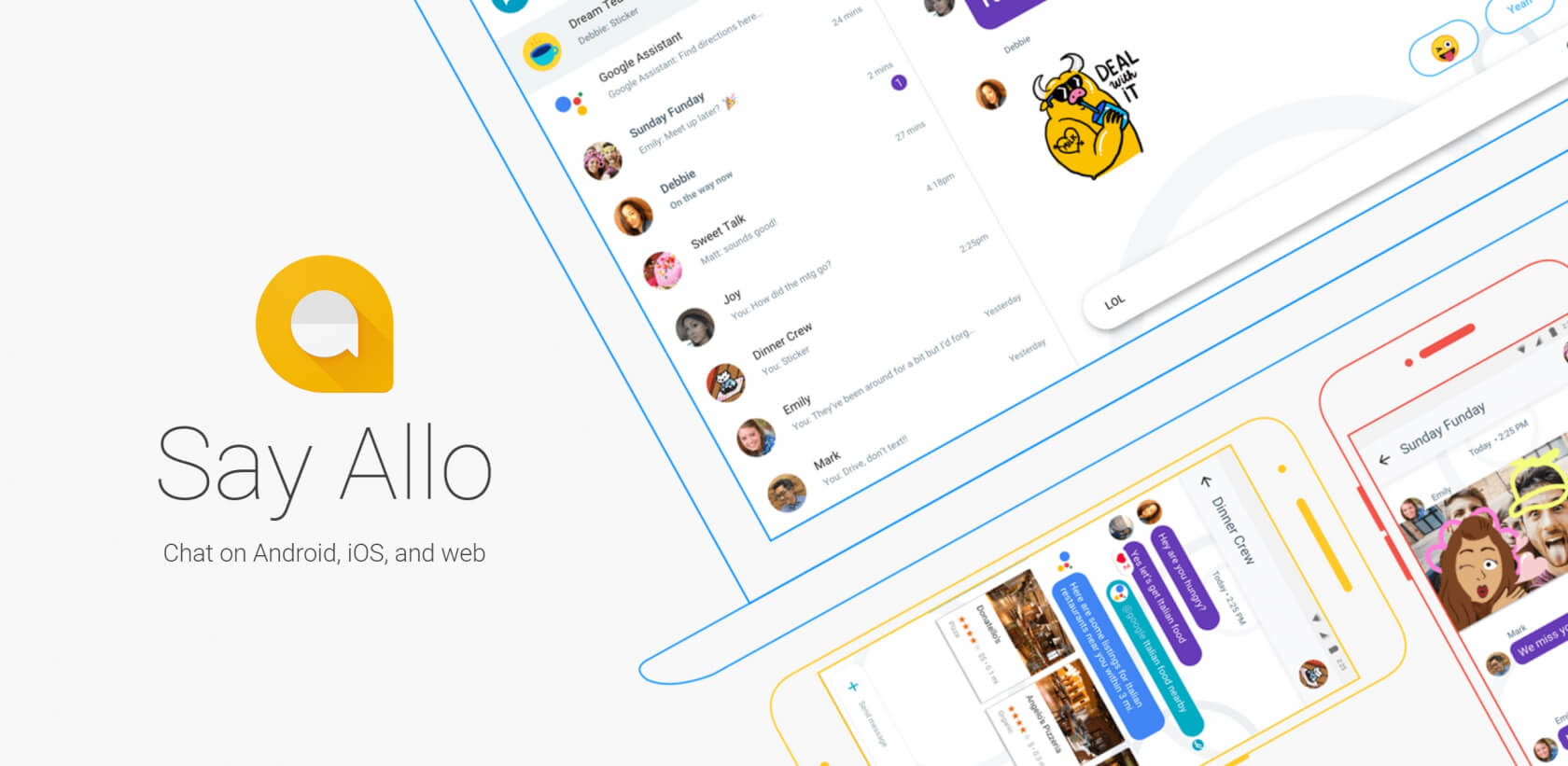 Google Allo is now available to desktop users, as long as they have an Android phone