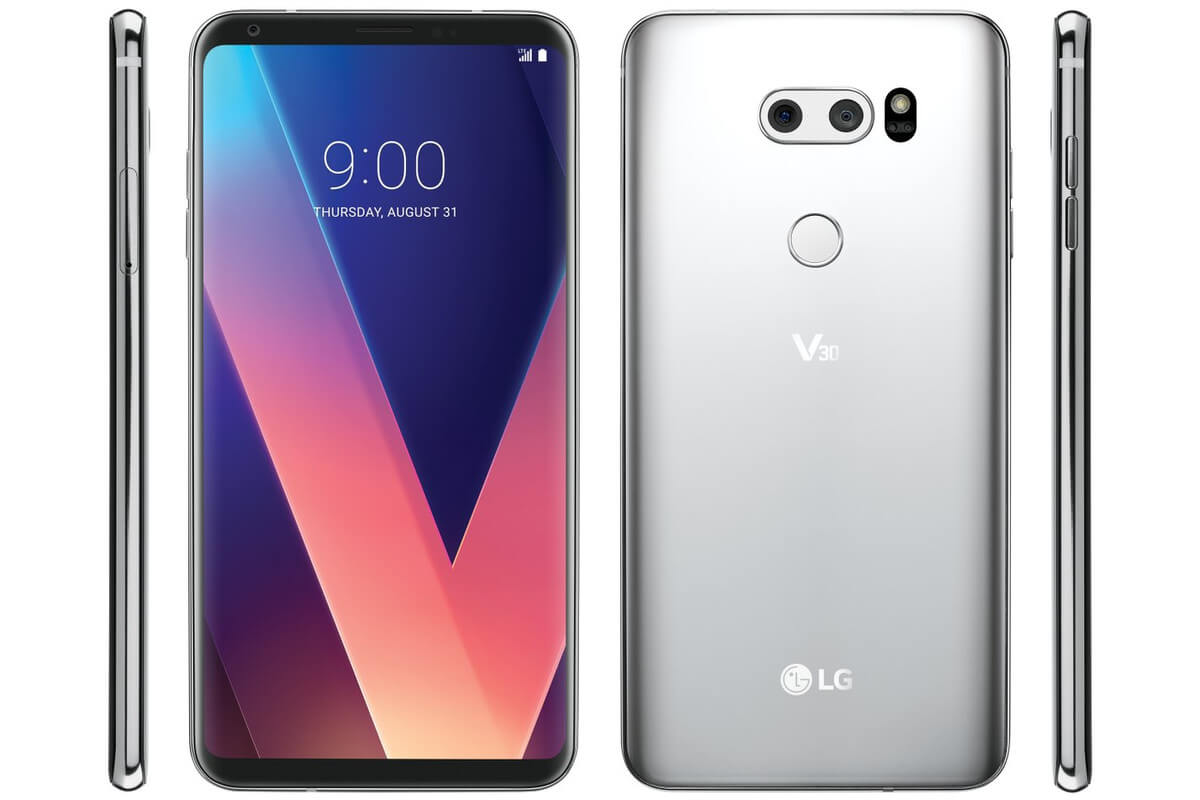 The V30 is LG's most gorgeous handset to date