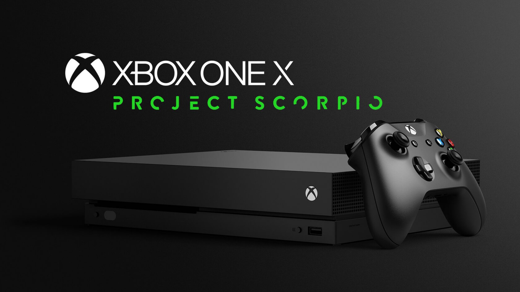 Xbox One X may be seeing a Day One special edition branded with the Project Scorpio logo