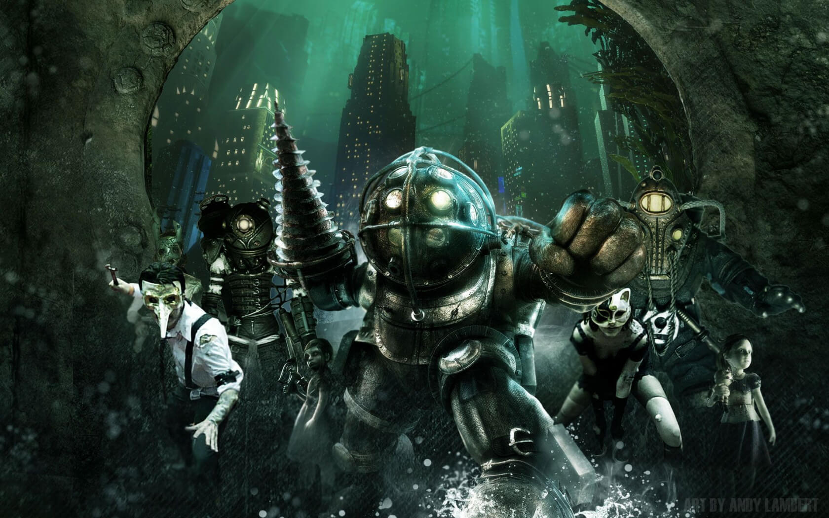 BioShock is celebrating its 10-year anniversary with a $200 collector's edition