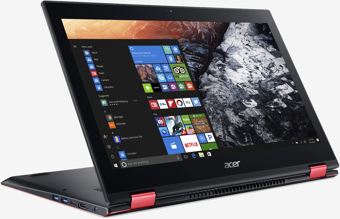 Acer's Nitro 5 Spin is a convertible designed for casual gaming