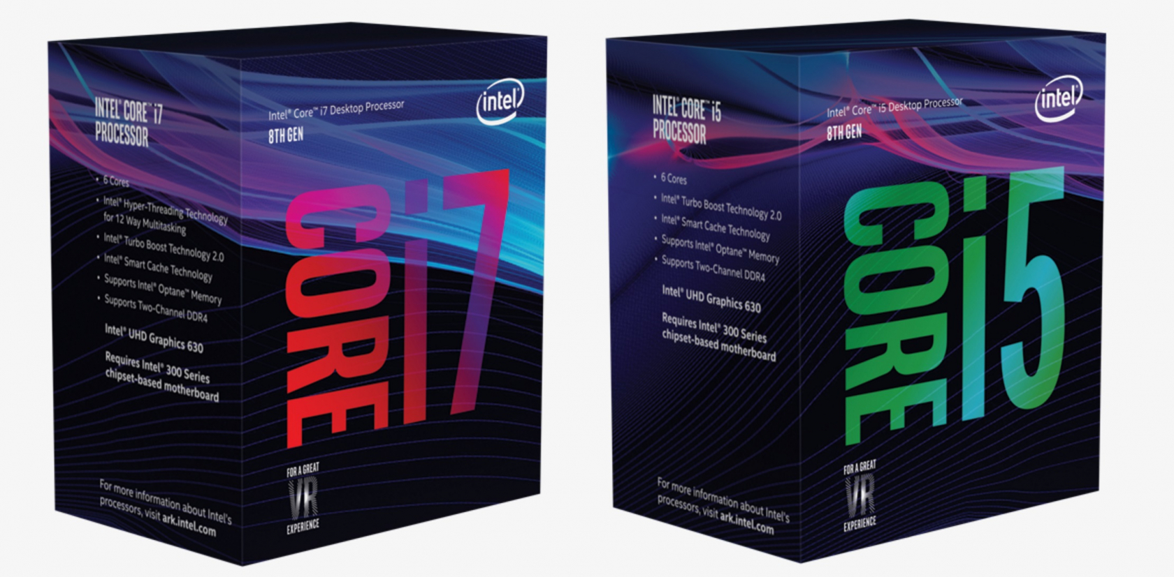 Intel unveils the first of its 8th generation Core CPUs