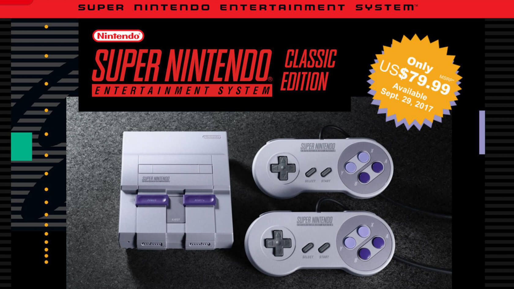 Pre-orders for Nintendo's Super NES Classic go live and sell out instantly