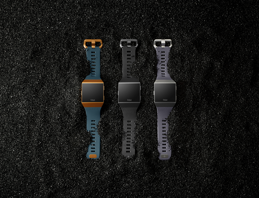 Fitbit announces first true smartwatch, the Fitbit Ionic, and $129 Flyer wireless headphones