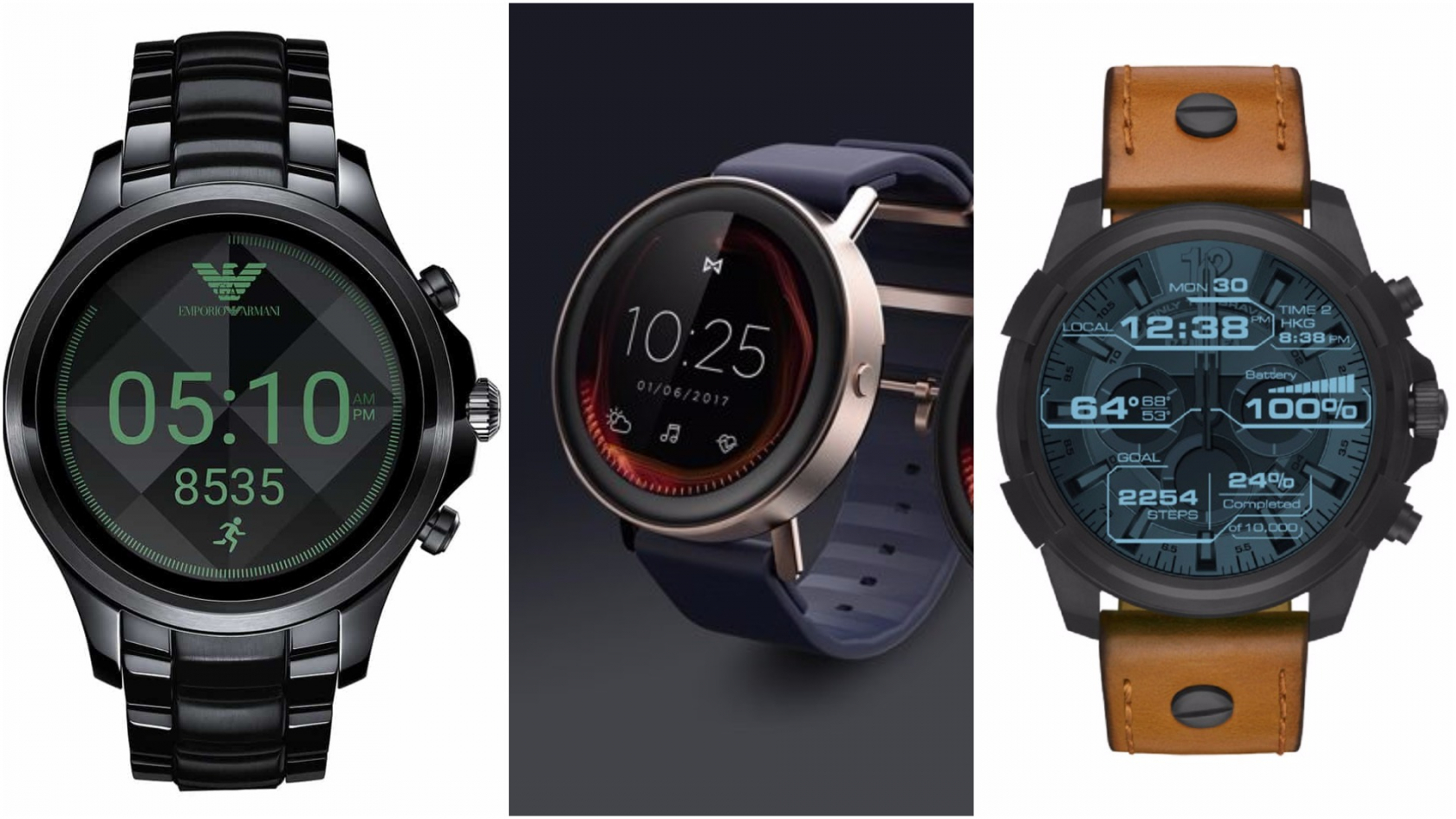 Fossil shows off stylish new Android Wear smartwatches ...
