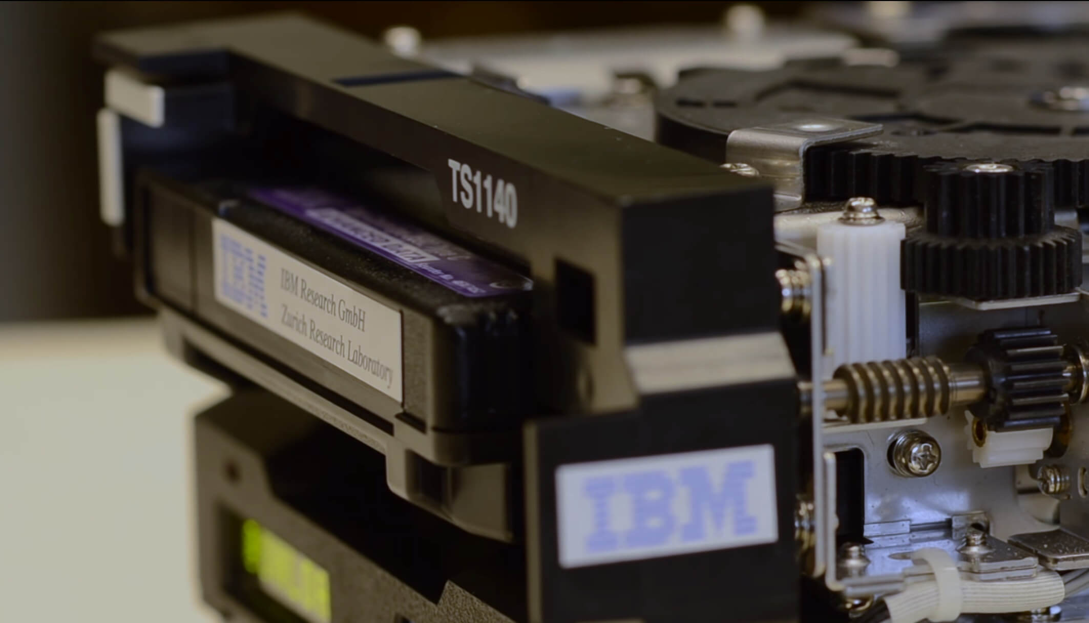 IBM breaks record by storing 330TB of uncompressed data onto palm-sized cartridge