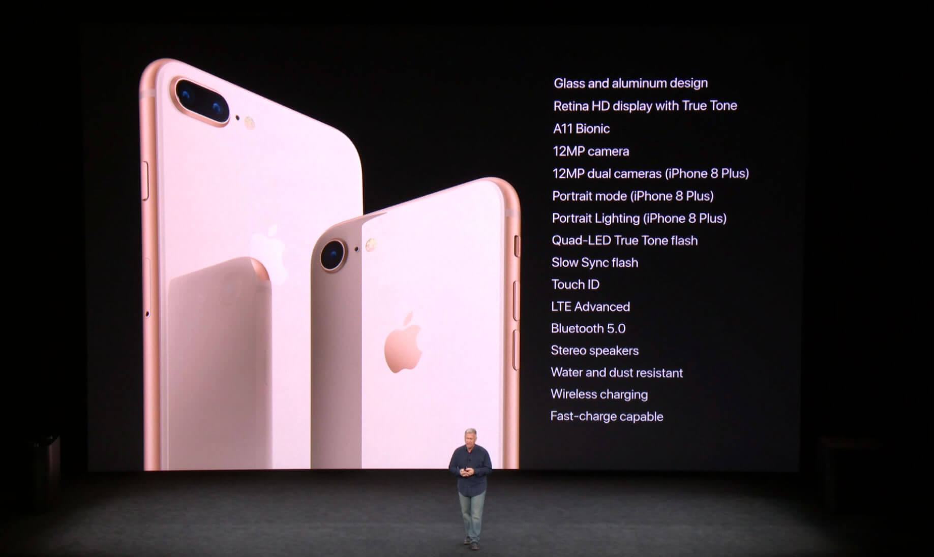 The Full List Of New IPhone 8 Features Can Be Seen In Photo Above Though Course Ask Apple And They Will Tell You Body Is All