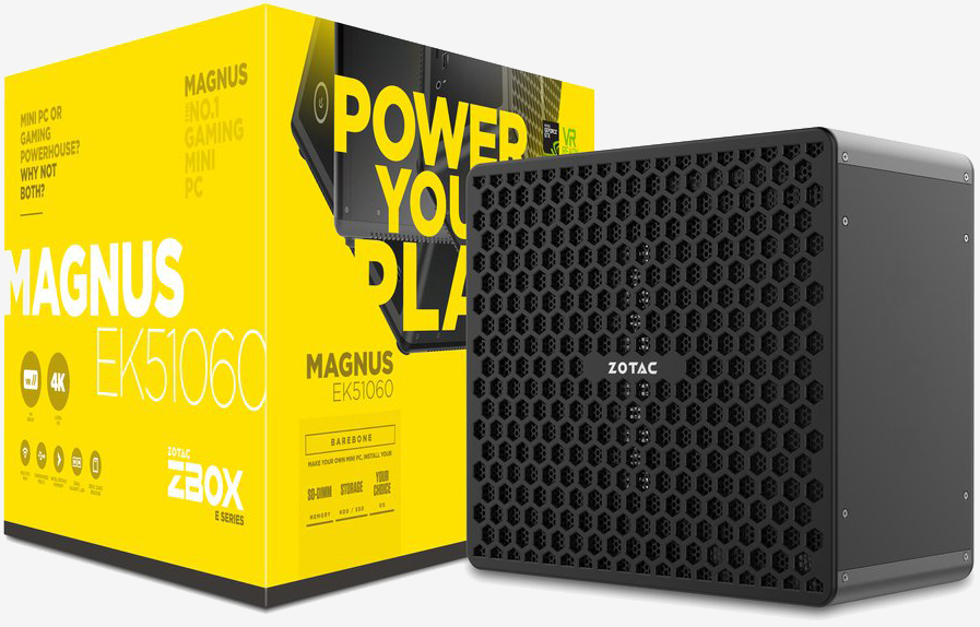 Zotac unveils Magnus mini gaming rigs with full-sized graphics cards