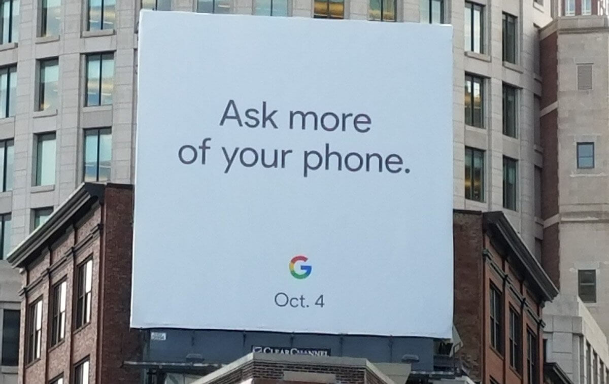 Google confirms Pixel 2 launch event will take place on October 4