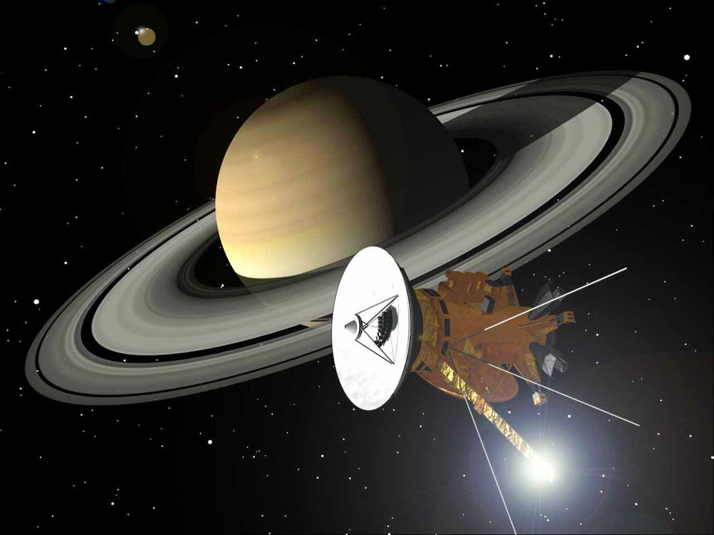 NASA's Cassini spacecraft plunged into Saturn, ending 20-year journey