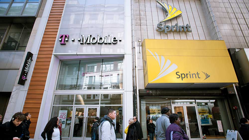 T-Mobile and Sprint merger still in the works
