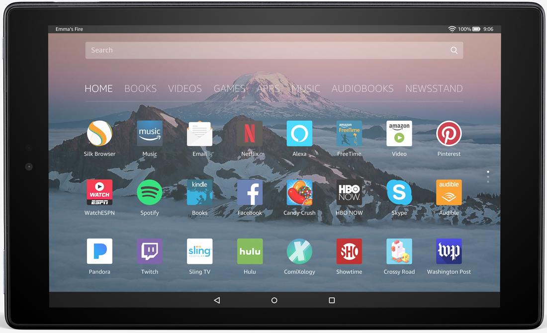 Amazon's new Fire HD 10 tablet gets 1080p display, hands-free Alexa